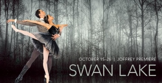 Swan Lake at The Joffrey Ballet - POSTER