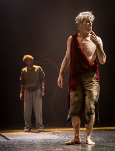 Steve Haggard and Larry Yando in Chicago Shakespeare's KING LEAR - photo by Liz Lauren.
