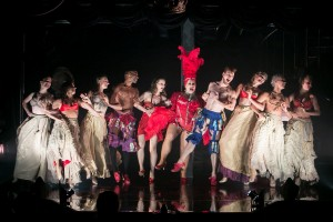 The ensemble of Austin McCormick's ROCOCO ROUGE. Photo by Phillip Van Nostrand.