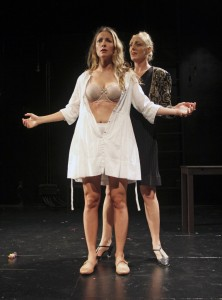 Vanessa Johansson & Ingrid Kullberg-Bendz in BASTARDS OF STRINDBERG.