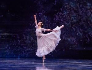 Victoria Jaiani in LILAC GARDEN, part of Joffrey Ballet's STORIES IN MOTION - photo by Cheryl Mann.