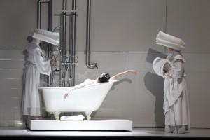 Amber Scott & Ensemble in The Australian Ballet's SWAN LAKE. Photo by Jeff Busby