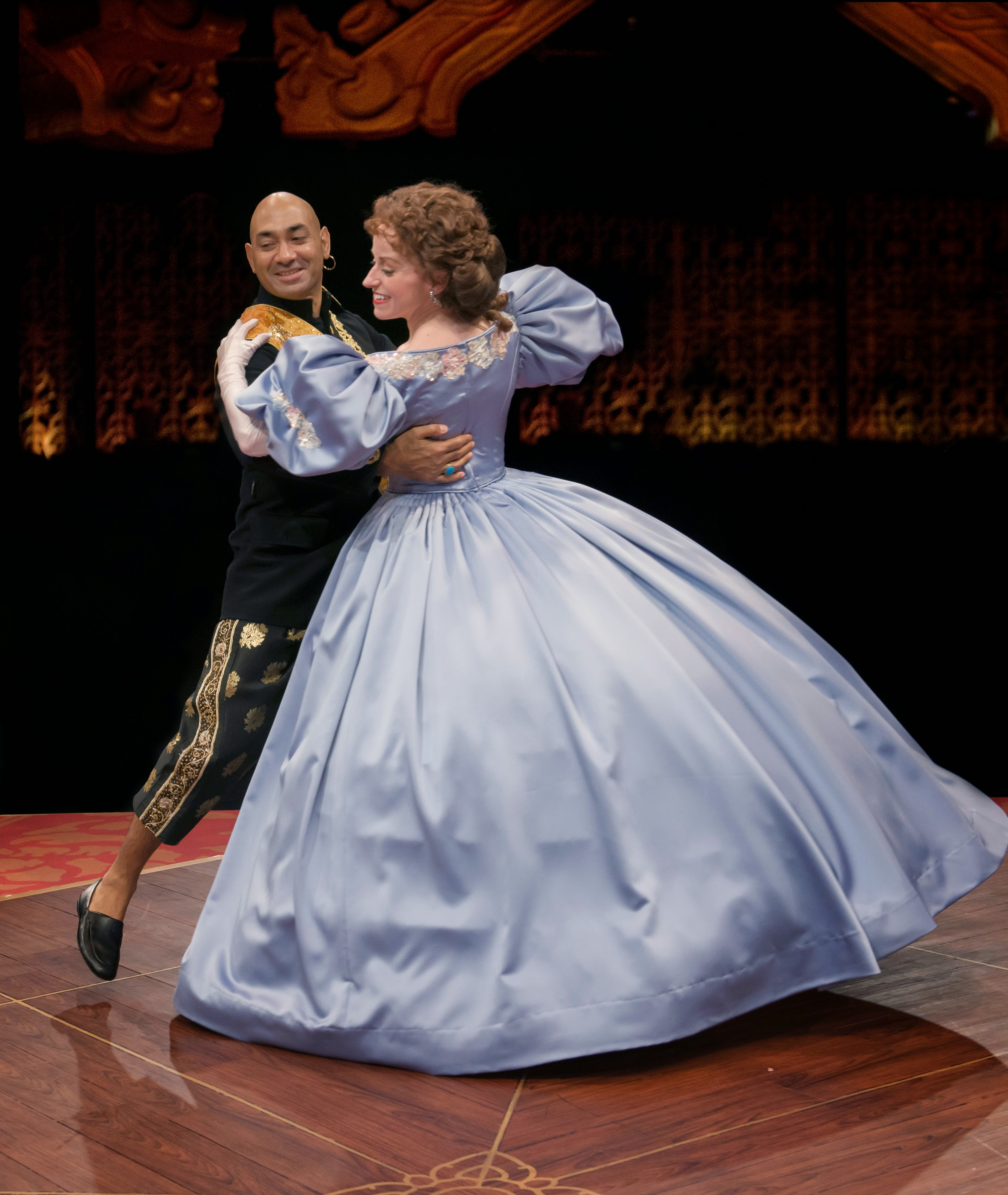 Stage And Cinema Theater Review The King And I Marriott