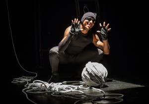 Anthony Fleming III in Lookingglass Theatre Company's LOOKINGGLASS ALICE. Photo by Liz Lauren.