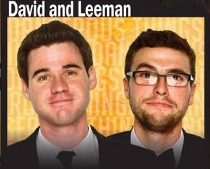 DAVID AND LEEMAN - Poster