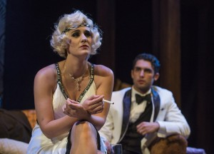 Danni Smith and Patrick Falcon in Bailiwick Chicago's production of THE WILD PARTY. Photo by Michael Brosilow.