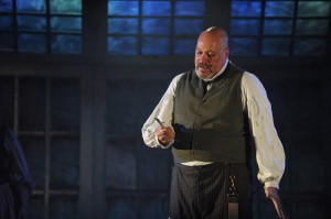David Girolmo in Porchlight Music Theatre's production of SWEENEY TODD. Photo by Brandon Dahlquist.