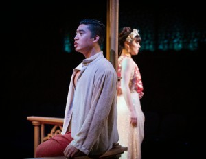 Devin Ilaw and Megan Masako Haley in THE KING AND I at The Marriott Theatre. Photo by Amy Boyle.