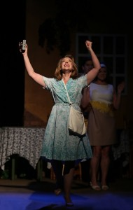 Emily Skinner in 42nd Street Moon's production of DO I HEAR A WALTZ.