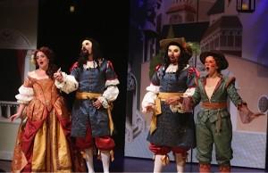 Haymarket Opera Company's production of Scarlatti's Gli Equivoci nel Sembiante at Mayne Stage. Photo by Chuck Osgood.