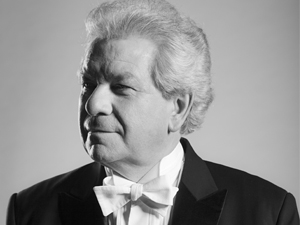 Jirí Belohlávek, conductor of Czech Philharmonic Orchestra.