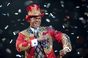 Johnathan Lee Iverson in Ringling Bros. Barnum & Bailey's LEGENDS.
