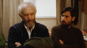 Jonathan Pryce and Jason Schwartzman in Listen Up Philip distributed by Tribeca Film.