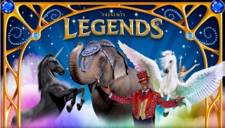 Post image for Tour Review: LEGENDS (Ringling Bros. and Barnum & Bailey Circus)
