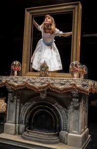 Lindsey Noel Whiting in Lookingglass Theatre Company's LOOKINGGLASS ALICE. Photo by Liz Lauren.