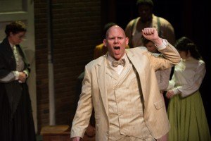 Michael Potsic as Watson in BoHo Theatre's production of PARADE.