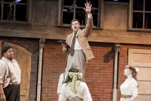 Nathan Carroll as Craig in BoHo Theatre's production of PARADE.