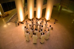Norbertine Fathers appearing in CATHEDRALS OF SOUND at Segerstrom