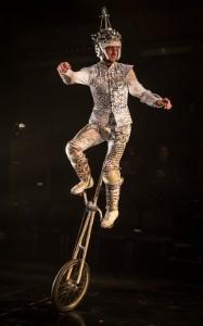 Samuel Taylor in Lookingglass Theatre Company's LOOKINGGLASS ALICE. Photo by Liz Lauren.