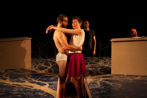 Scene from Blessed Unrest's LYING - photo by Alan Roche