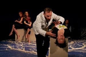 Scene from Blessed Unrest's LYING. Photo by Alan Roche