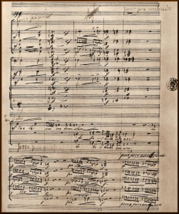 Score of the 6th part (Fac me vere) of Dvorak's Stabat Mater.