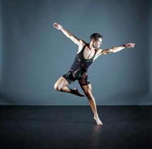 Sean Rozanski in GDC's Jon Lehrer's A Ritual Dynamic - Photo by Gorman Cook.