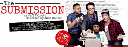 Post image for Chicago Theater Review: THE SUBMISSION (Pride Films and Plays at the Apollo Studio Theatre)