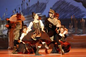 The Ensemble in The Australian Ballet's SWAN LAKE. Photo by Jeff Busby