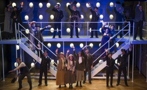 The company of Griffin Theatre Company's production of TITANIC. Photo by Michael Brosilow.