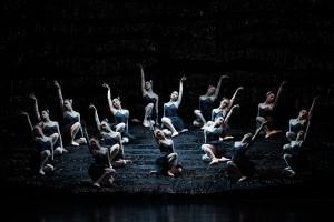 The corps de ballet in The Australian Ballet's SWAN LAKE. Photo by Jeff Busby.