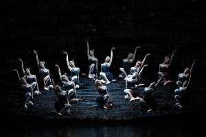 The corps de ballet in The Australian Ballet's SWAN LAKE. Photo by Jeff Busby