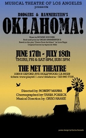 Post image for Theater Review: OKLAHOMA! (Musical Theatre of Los Angeles at the Met Theatre)