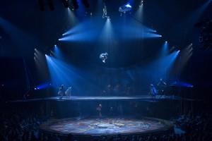 ACRO NET from Cirque du Soleiel's KURIOS - CABINET OF CURIOSITIES. Photo by Martin Girard.