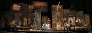 Act IV of San Francisco Opera's La Boheme. Photo by Cory Weaver.