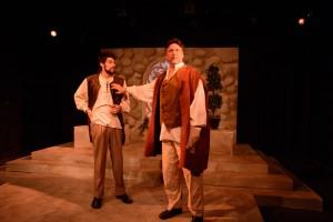 Brian Hurst in Promethean Theatre Ensemble's THE WINTER'S TALE. Photo by Tom McGrath.