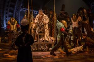 CHERCHEUR KURIOS from Cirque du Soleiel's KURIOS - CABINET OF CURIOSITIES. Photo by Martin Girard.