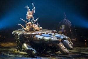 CONTORTION from Cirque du Soleiel's KURIOS - CABINET OF CURIOSITIES. Photo by Martin Girard.