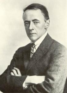 Composer Arnold Bax