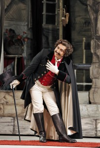 Efraín Solís (Dandini) in San Francisco Opera's LA CENERENTOLA. Photo by Cory Weaver.