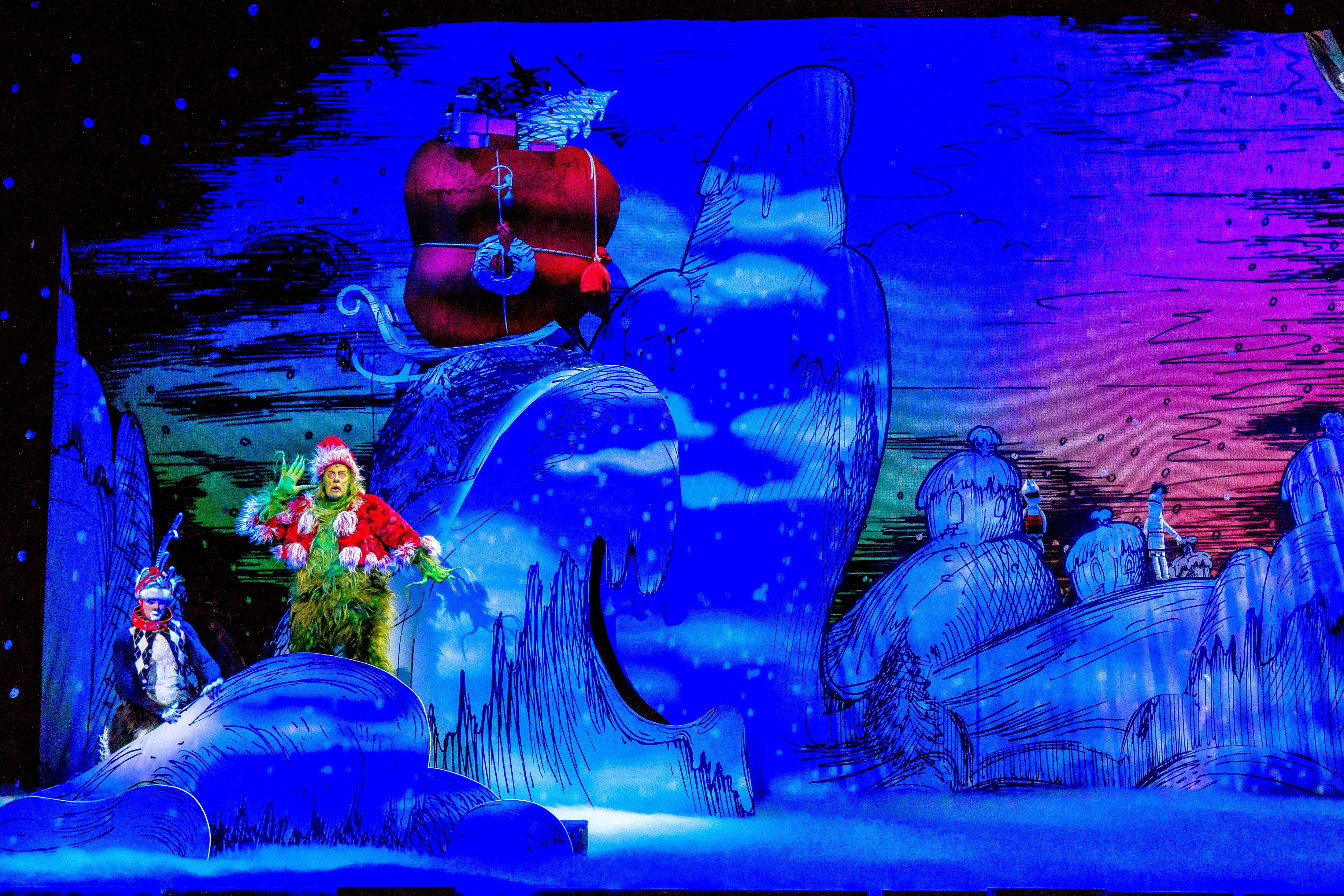 goditi un grande sconto bellissimo aspetto bellezza Theater Review: DR. SEUSS' HOW THE GRINCH STOLE CHRISTMAS ...