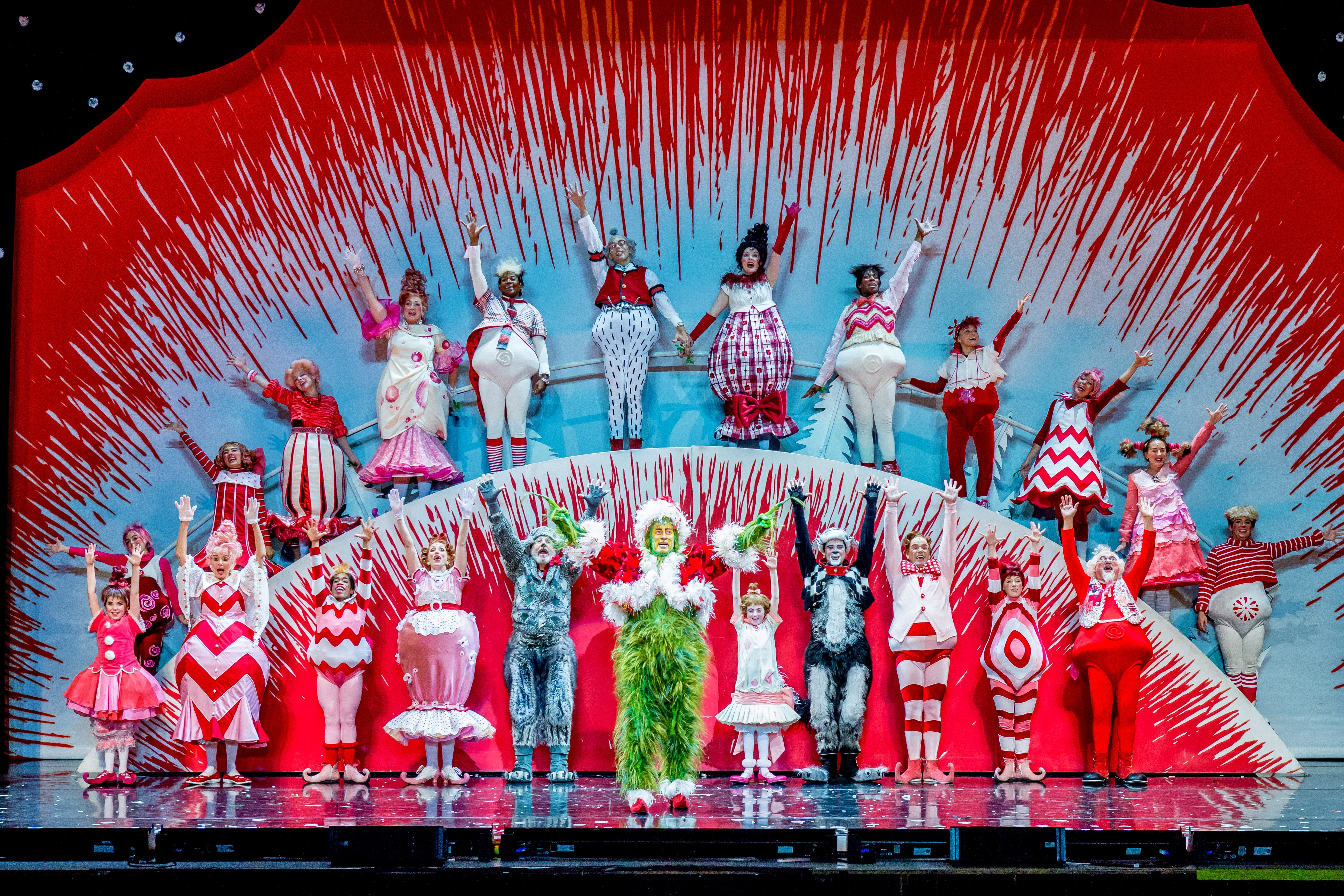 Theater Review: DR. SEUSS' HOW THE GRINCH STOLE CHRISTMAS ...