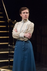 Hannah Cabell (Barbara Undershaft) in Pearl Theatre's MAJOR BARBARA. Photo by Richard Termine.