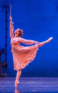 Joffrey - Nutcracker, Caitlin Meighan as Clara - Photo by Cheryl Mann