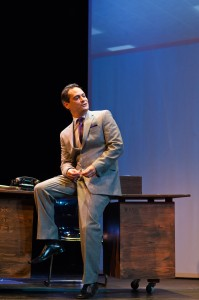 Johnny Moreno in San Francisco Playhouse's production of PROMISES, PROMISES. Photo by Jessica Palopoli.