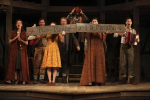 KING LEAR Shakespeare's Globe Tour. Photo by Ellie Kurttz.