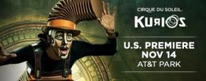 KURIOS by Cirque du Soleil - Premiere POSTER
