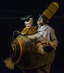 MICROCOSMOS (Mini Lili) from Cirque du Soleiel's KURIOS - CABINET OF CURIOSITIES. Photo by Martin Girard.