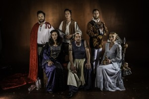 SHOTSPEARE'S ROMEO AND JULIET. Photo by Jamie Arrigo.