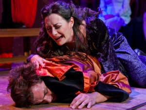 SHOTSPEARE'S ROMEO AND JULIET. Photo by Jim R Moore